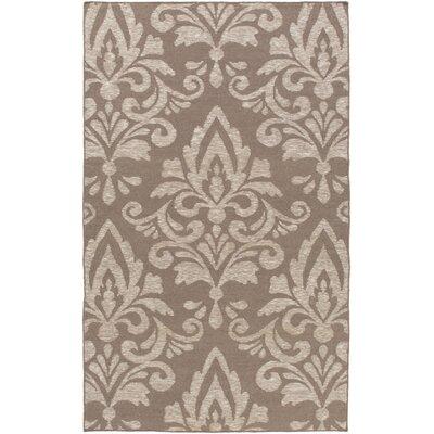 Delavan Hand Woven Brown Area Rug Rug Size: 6 x 9