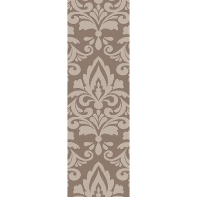 Delavan Hand Woven Brown Area Rug Rug Size: Runner 26 x 8