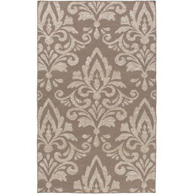 Delavan Hand Woven Brown Area Rug Rug Size: 8 x 10