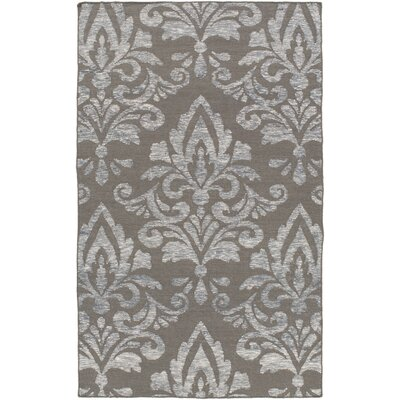 Delavan Hand Woven Ikat Gray Area Rug Rug Size: Rectangle 8 x 10