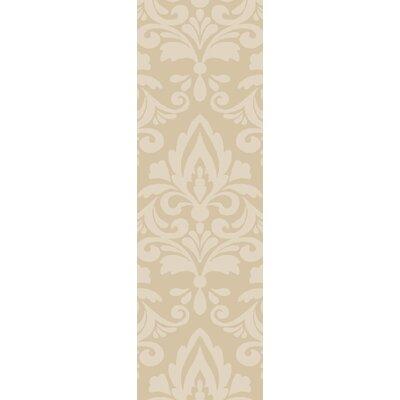 Delavan Hand Woven Ikat Beige Area Rug Rug Size: Runner 26 x 8