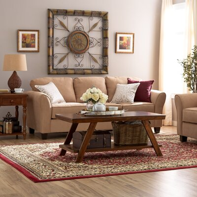 Serta Upholstery Franklin Sofa Upholstery: Viewpoint Tan