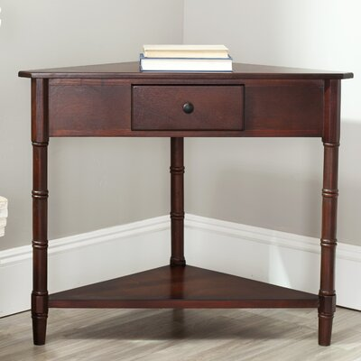 Broadalbin Corner Table Finish: Dark Cherry