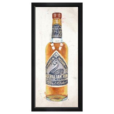 Australian Rum Framed Painting Print