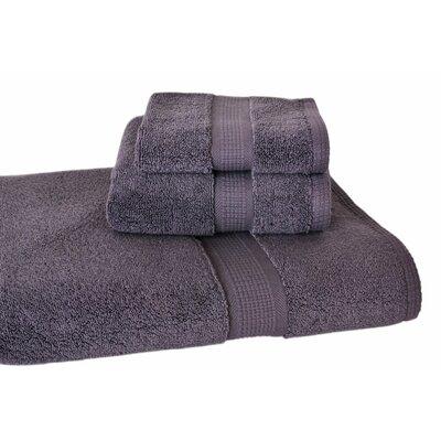 Constable 3 Piece Bath Towel Set Color: Charcoal