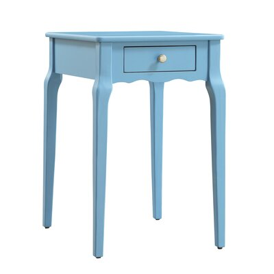 Pinckney End Table Color: Heritage Blue