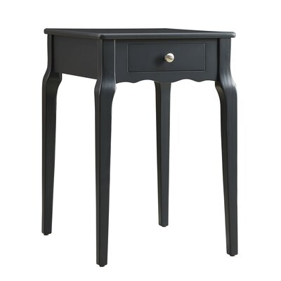 Pinckney End Table With Storage� Color: Vulcan Black