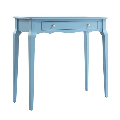 Fabius Console Table Color: Heritage Blue