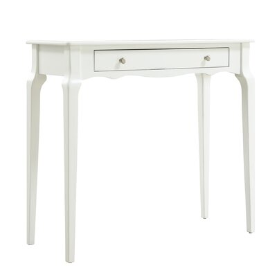 Fabius Console Table Color: White