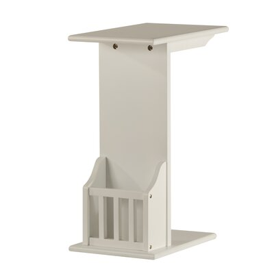 Penfield End Table Color: White