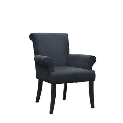 Geneva Armchair Upholstery: Black