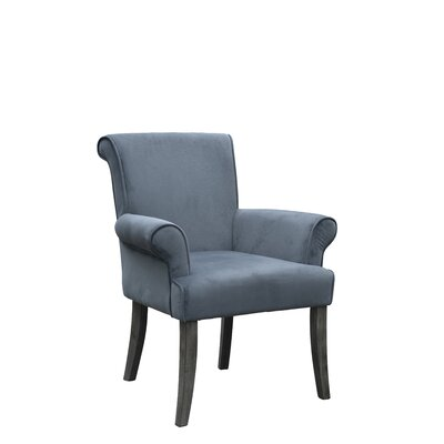 Geneva Armchair Upholstery: Charcoal