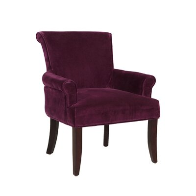 Geneva Armchair Upholstery: Purple