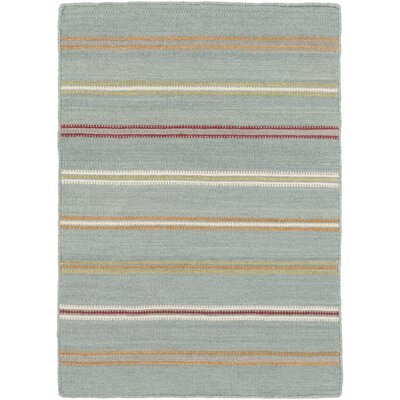 Rachel Hand Woven Gray Area Rug Rug Size: Rectangle 4 x 6