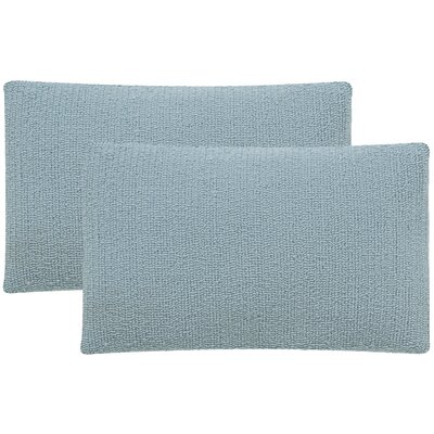 Providence Outdoor Lumbar Pillow Color: Marine Baby Blue