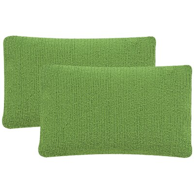 Providence Outdoor Lumbar Pillow Color: Sunshine Green