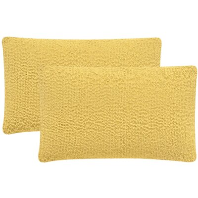 Providence Outdoor Lumbar Pillow Color: Sunshine Yellow