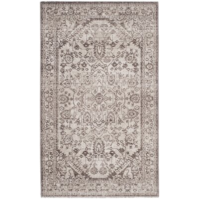 Bloomfield Beige/Brown Area Rug Rug Size: 3 x 5