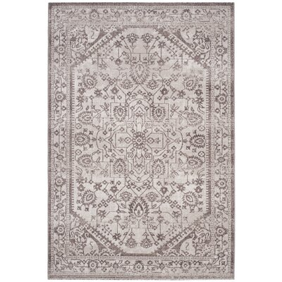 Bloomfield Beige/Brown Area Rug Rug Size: Rectangle 4 x 6
