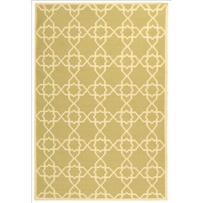 Danbury Olive/Ivory Area Rug Rug Size: Rectangle 6 x 9