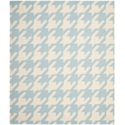 Mccall Light Blue / Ivory Area Rug Rug Size: Rectangle 8 x 10