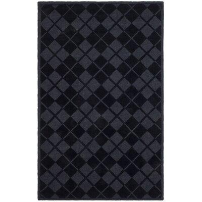 Argyle Hand-Loomed Wrought Iron Area Rug Rug Size: 8 x 10