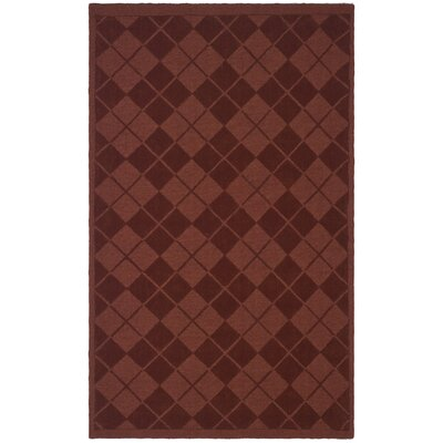 Argyle Hand-Loomed Ohio Buckeye Area Rug Rug Size: 9' x 12'