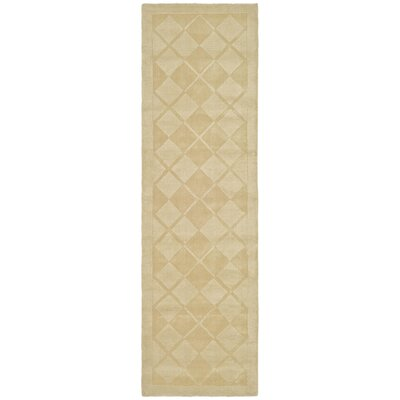 Argyle Hand-Loomed Hickory Area Rug Rug Size: Runner 23 x 8