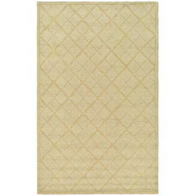 Argyle Hand-Loomed Hickory Area Rug Rug Size: Rectangle 5 x 8
