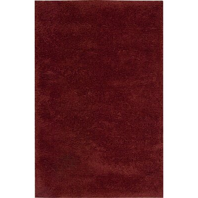 Wallaceton Red Area Rug Rug Size: Rectangle 36 x 5
