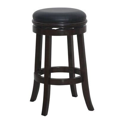 Bristol 29 inch Swivel Bar Stool Finish: Cappuccino