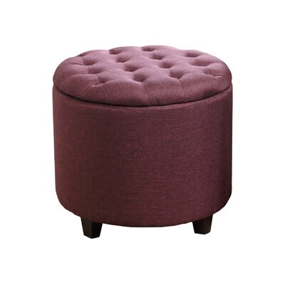 Evelyn Tufted Storage Ottoman