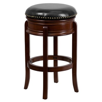 Willowridge 29 Swivel Bar Stool Finish: Cherry
