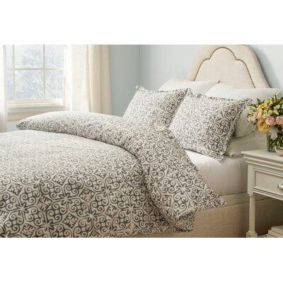 Bakerstown Comforter Set Size: King, Color: Dark Gray