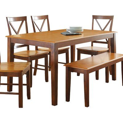 Greenside Dining Table Table Finish: Oak