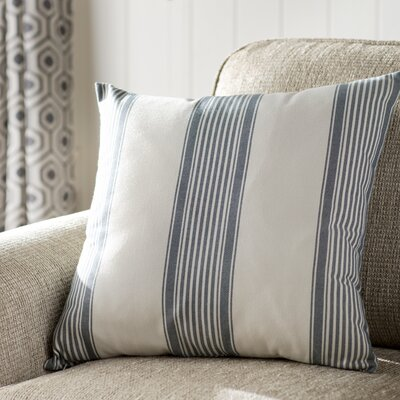 Newport Throw Pillow Color: Dark Blue