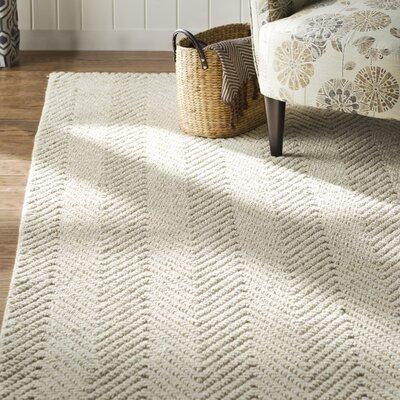 Honesdale Ivory/Beige Area Rug Rug Size: 33 x 53