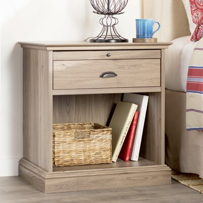 Kiantone 1 Drawer Nightstand