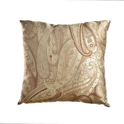 Leavitt Throw Pillow Color: Latte