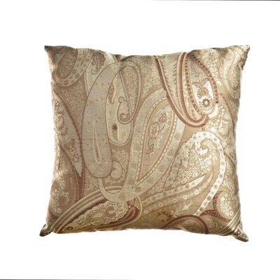 Leavitt Throw Pillow Color: Latte