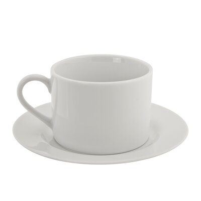New Britain 6 oz. Teacup and Saucer (Set of 6) THRE3400 27384623