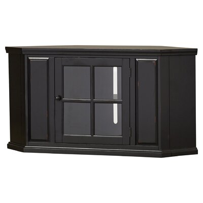Benson Corner TV Stand Finish: Black Rub
