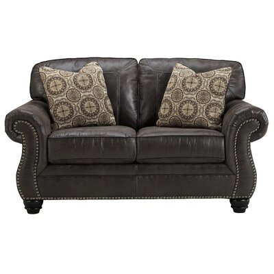 Conesville Loveseat Upholstery: Charcoal