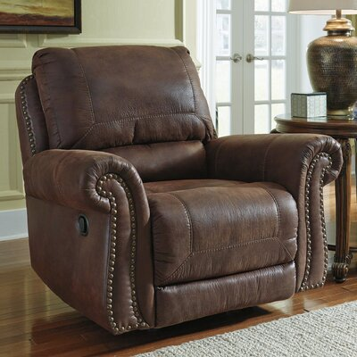 Conesville Manual Rocker Recliner Upholstery: Espresso