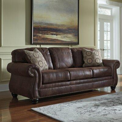 Conesville Sofa Upholstery: Espresso