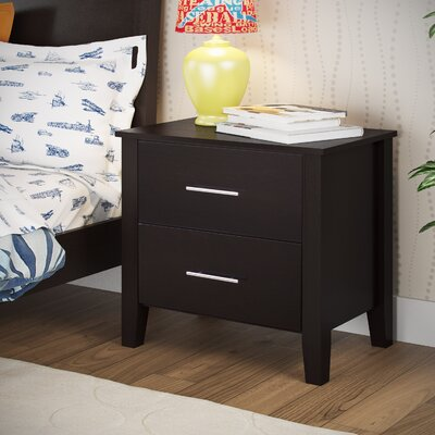 Tyre 2 Drawer Nightstand