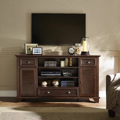 Hunterstown 60 TV Stand Color: Mahogany