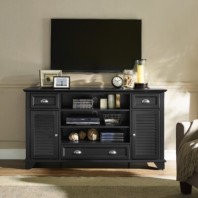 Hunterstown 60 TV Stand Color: Black