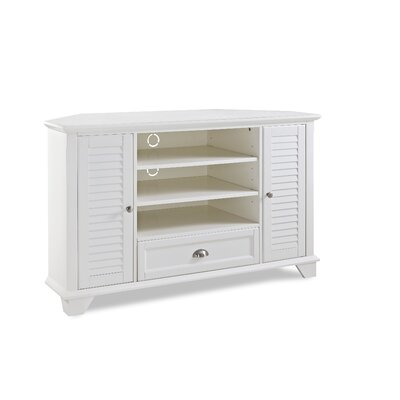 Cheap Hunterstown TV Stand Finish White for sale