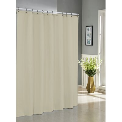 Albion Jacquard Shower Curtain Color: Sand